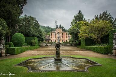 Villa Barbarigo - Viale centrale