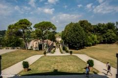 Villa La Rotonda - vista dall'entrata