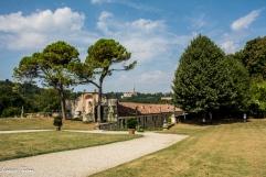 Villa La Rotonda - Nello sfondo Monte Berico