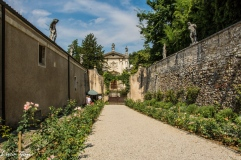 Villa La Rotonda - Vista Uscita
