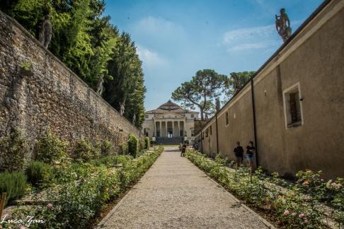 Villa La Rotonda -Vista Entrata