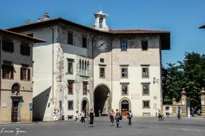 Pisa - Palazzo dell'Orologio