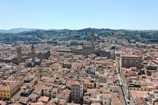 Firenze - Vista su Palazzo Vecchio