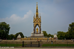 Londra - Albert Memorial Monuments