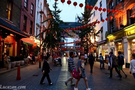 Londra - Chinatown - Soho