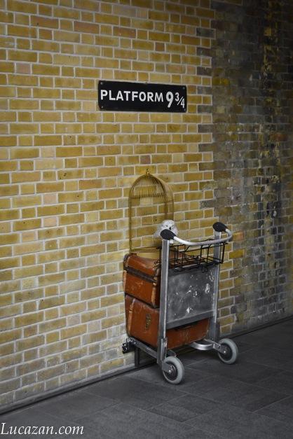 Londra - Platform 9 e 3/4