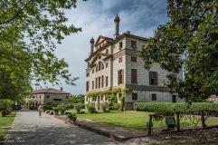 Villa Foscari ,Prospetto posteriore