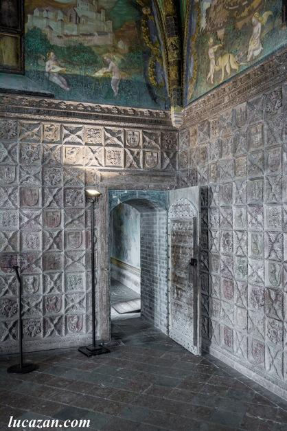 Castello di Torrechiara - la Camera d'oro