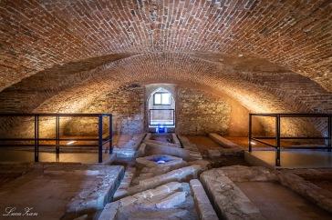 Villa Caldogno - sotterranei e impianto idraulico